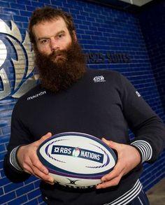 Geoff Cross (Scotland): #Bearded_Rugby_Player