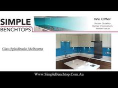 Accessorizing your cooking space right on a budget is now possible as Simple Benchtop offers an alluring range of glass splashbacks in Melbourne. Check out this video to know more! https://goo.gl/YgBlEA