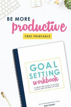 Want to take back control of your time? This life-changing goal setting workbook will walk you through 5 simple but powerful steps to help you create a straightforward action plan for achieving your biggest goals and reaching your dreams this year. #productivity #timemanagement #freeprintable #free #freedownload #planning #planneraddicts #plannergirl