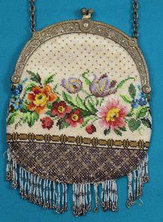 Victorian Beaded Bag, 1890-1900