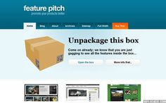 Free Feature Pitch - Wordpress Theme ver 1.4.2  - http://wordpressthemes.im/free-feature-pitch-wordpress-theme-ver-1-4-2/