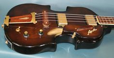 Guitar Blog: Japanese-made Apollo violin bass with scroll headstock