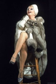 Angela Lansbury the incomparable star of stage and screen in her triumphant musical version of Mame, 1966.