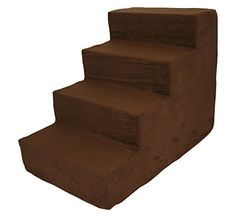 Best Pet Supplies Suede COVER ONLY for Foam Stairs/Steps *** For more information, visit image link.