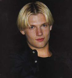 Nick Carter from the Backstreet Boys - My first celebrity crush<3