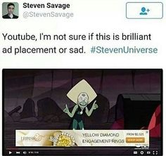 Only Steven universe fans will understand this haha