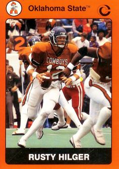 Oklahoma State Cowboys Football Card