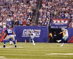 Let it begin! 2012 Kick Off  Dallas Cowboys vs New York Giants