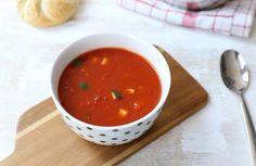 Tomatensoep met groenten