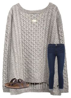 """""""Last day of winter break tomorrow """" by mae343 ❤ liked on Polyvore featuring Frame, Birkenstock and Kendra Scott"""