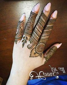 Latest Bridal Mehndi Designs, Back Hand Mehndi Designs, Finger Henna Designs, Henna Art Designs, Mehndi Designs For Girls, Mehndi Designs For Beginners, Modern Mehndi Designs, Mehndi Design Pictures, Mehndi Designs For Fingers