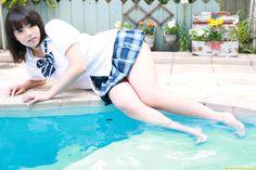 Ai Shinozaki (시노자키 아이,篠崎愛 ,しのざきあい) Fan Blog :: [2008.08] [DGC] Ai Shinozaki - No.611 Jappydolls 16歲☆眞夏に實