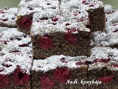 Meggyes - mákos lepény - Andi konyhája - Sütemény és ételreceptek képekkel