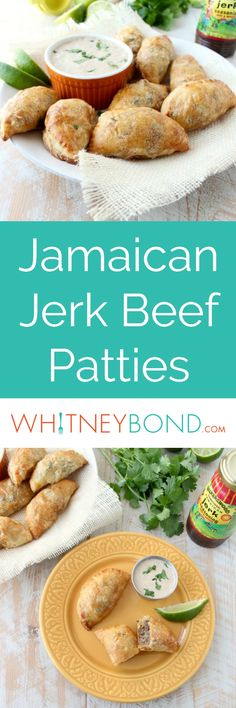 Jamaican jerk seasoned beef patties are a popular dish in Jamaica. In this recipe, the patties are made into the perfect size for a party appetizer! Appetizers For Party, Appetizer Recipes, Canapes Recipes, Jamaican Jerk Seasoning, Patties Recipe, Ground Beef Recipes Easy, Easy Party Food, Mexican Food Recipes, Ethnic Recipes