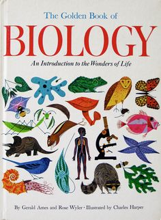 Golden Book of Biology, illustrator Charly Harper