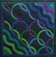 Quilts & Patchwork - Quilt : For ever - ein Designerstück von maschispatch bei DaWanda