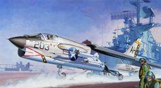 F-8E Crusader, VF-162 (Shigeo Koike)