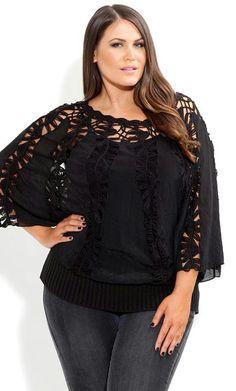 #crochet #black #dress