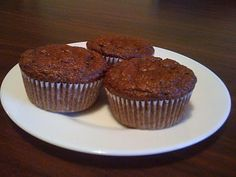 Simplest Yummy Dukan Diet Recipes: Chocolate Oat Bran muffins