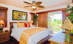 Hawaiian bedroom idea. Would love go have my room like that