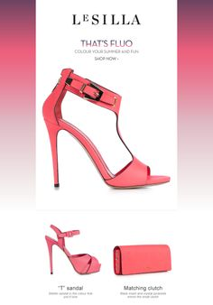 That's fluo! Colour your summer and fun! Shop now at http://www.lesilla.com/it/209/