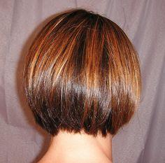 Brunette Highlights- warm golden caramel accents with darker brunette base