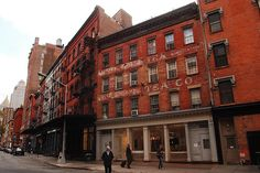 "magicofnewyork: ""Staple Street, Meatpacking District, New York City """