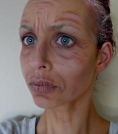 Halloween Series 2013: Old Granny Makeup