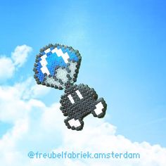 85 vind-ik-leuks, 3 reacties - Maggie Amsterdam (@freubelfabriek.amsterdam) op Instagram: 'Parabomb #mario #mariobros #supermario #supermariobros  #bombsquad #parachute #bobombs…'