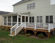 Portrait of The Best Screened Porch design for Typical Home