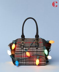 Light up the holidays with the perfect plaid bag.