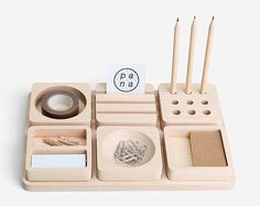 Stationary | Cool wooden design for your office space - Vosgesparis