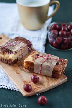 Birds Like Cake: Cherry Cheese Cake Brownies