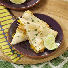 Margarita Chicken Quesadillas