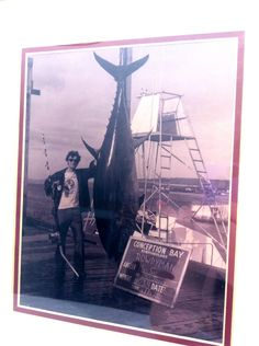 a892edac64c2 My father got drunk with some friends and caught a record breaking tuna in  Newfoundland. 1972