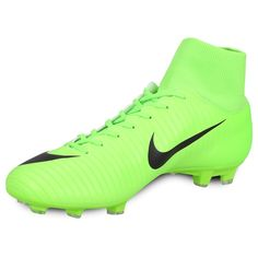 Botines Nike Mercurial Victory VI DF FG - Verde Claro Victorious, Cleats, Sports, Fashion, Zapatos, Football Boots, Hs Sports, Moda, Cleats Shoes