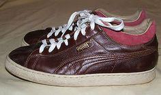 """Puma """"Stepper"""" Mahogany Casual Shoes US Mens"""
