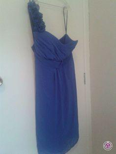 Clotheswap - Stax one shoulder dress One Shoulder, Shoulder Dress, Real Women, Size 14, Curves, Formal Dresses, Winter, Hair, Clothes