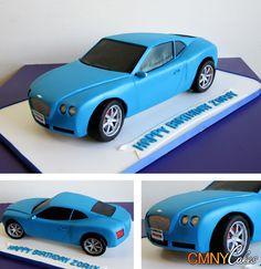 Bentley Continental Cake                                                       …