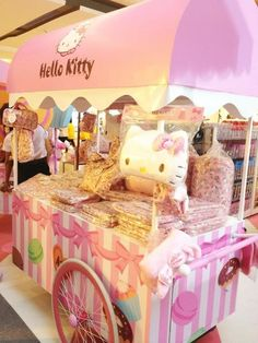This would be a cute candy cart