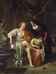 Bathsheba after the Bath, Jan Steen, about 1665–70