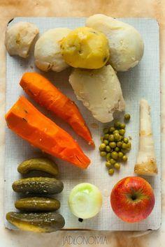 jadłonomia · roślinne przepisy: Wegańska sałatka jarzynowa