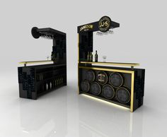 Bar design Jameson on Behance