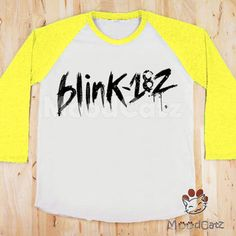 Shop the latest band t shirts rock products on Wanelo, the world's biggest shopping mall. Blink 182, Band Shirts, Baseball Shirts, Shirt Sleeves, Graphic Sweatshirt, Unisex, T Shirts For Women, Sweatshirts, Tees