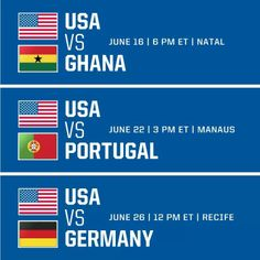 USA ....World cup...