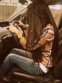 Long hair love.