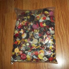 Buttons ~ Grandma's Buttons ~ Huge Lot Different Buttons ~ 3 pounds! #Buttons #sewing #crafts #eBay #scrapbooking #DIY