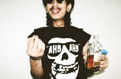 Asshole Brand   Bangkok, Thailand   www.ahbahb.com   www.facebook.com/assholebrand   #tattoo #street #fashion #lookbook #tshirt #wear #thai #smoke