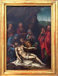 Deposizione di Cristo Olio su rame