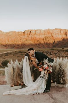 Pampas grass is trending in wedding décor. Read on for our favorite ways to use the wheat-colored grass in your ceremony and reception décor. Wedding Trends, Boho Wedding, Wedding Flowers, Wedding Venues, Wedding Ideas, Wedding Ceremony, Destination Wedding, Wedding Inspiration, Ceremony Decorations